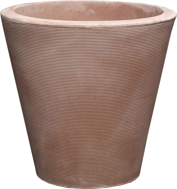 Crescent Garden Madison Planter, Double-Walled Plant Pot, 20