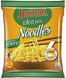 Buitoni Idea per Noodles Gusto Curry Noodles Istantanei e Condimento al Gusto Curry - 10 pezzi da 71 g [710 g]