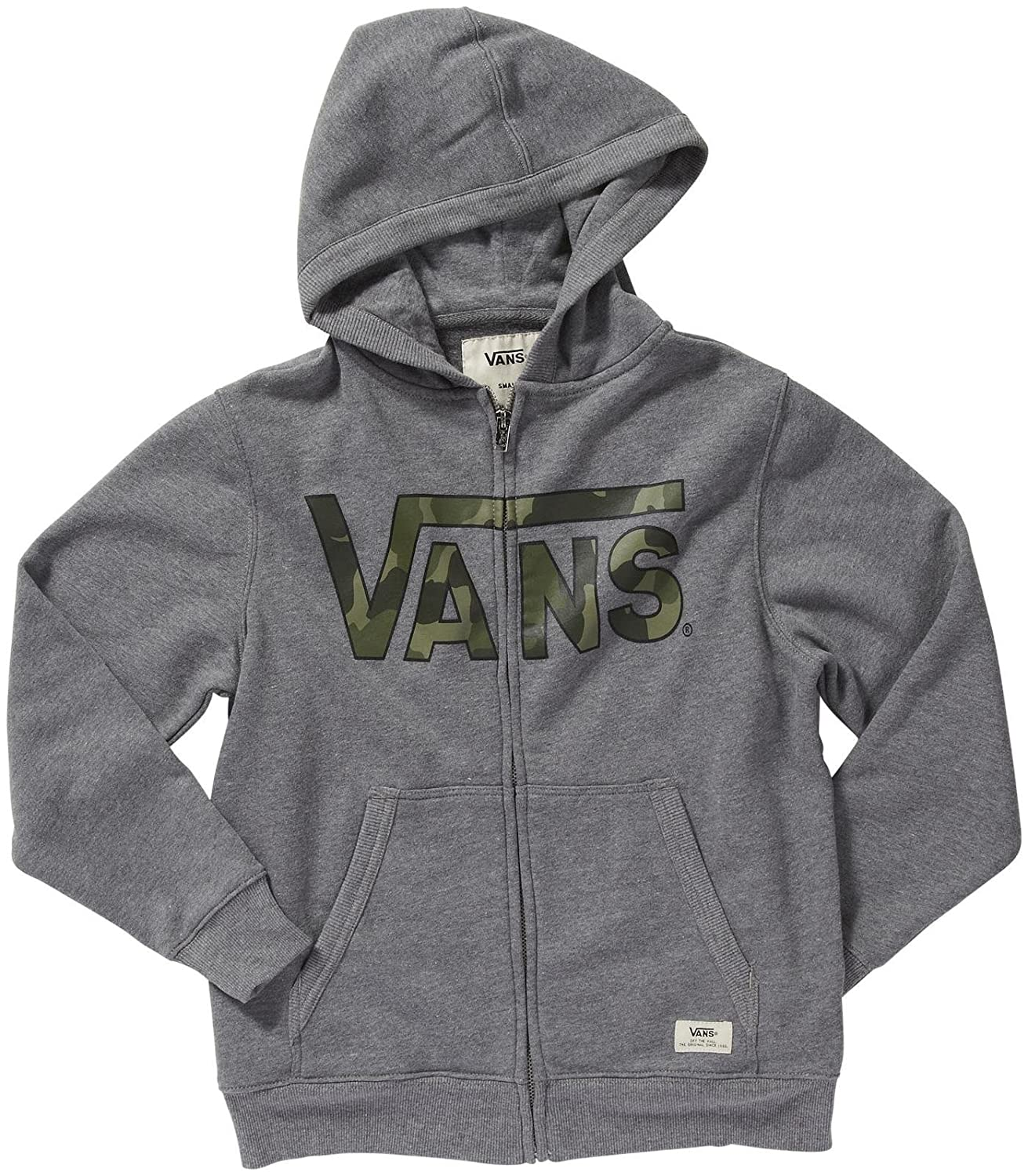 Vans - Chaqueta - para niño Concrete Heather/Bubble c Extra ...