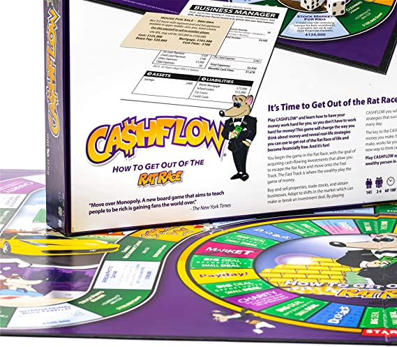 Newest Brand New CASHFLOW Get Out of the Rat Race by Rich Dad