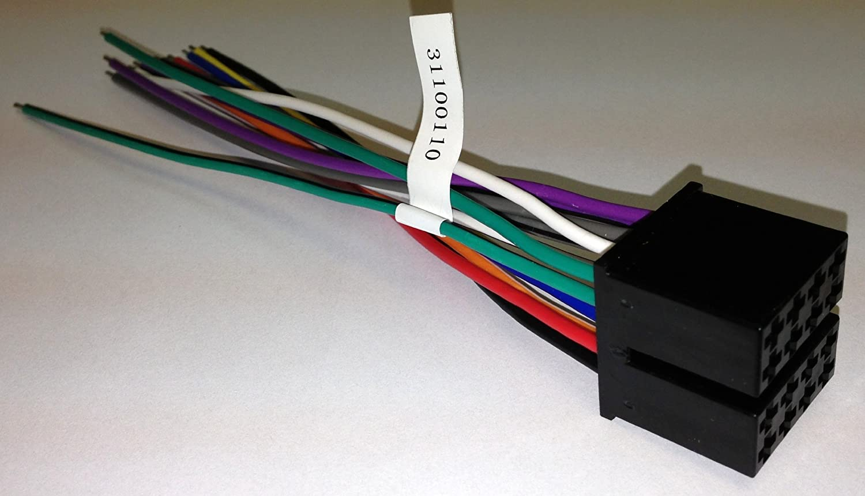 touch audio wiring amazon com jensen 31100110 power speaker harness for use with  amazon com jensen 31100110 power