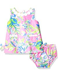 a82295295b Lilly Pulitzer Girls Baby Lilly Shift Multi Squeeze The Day