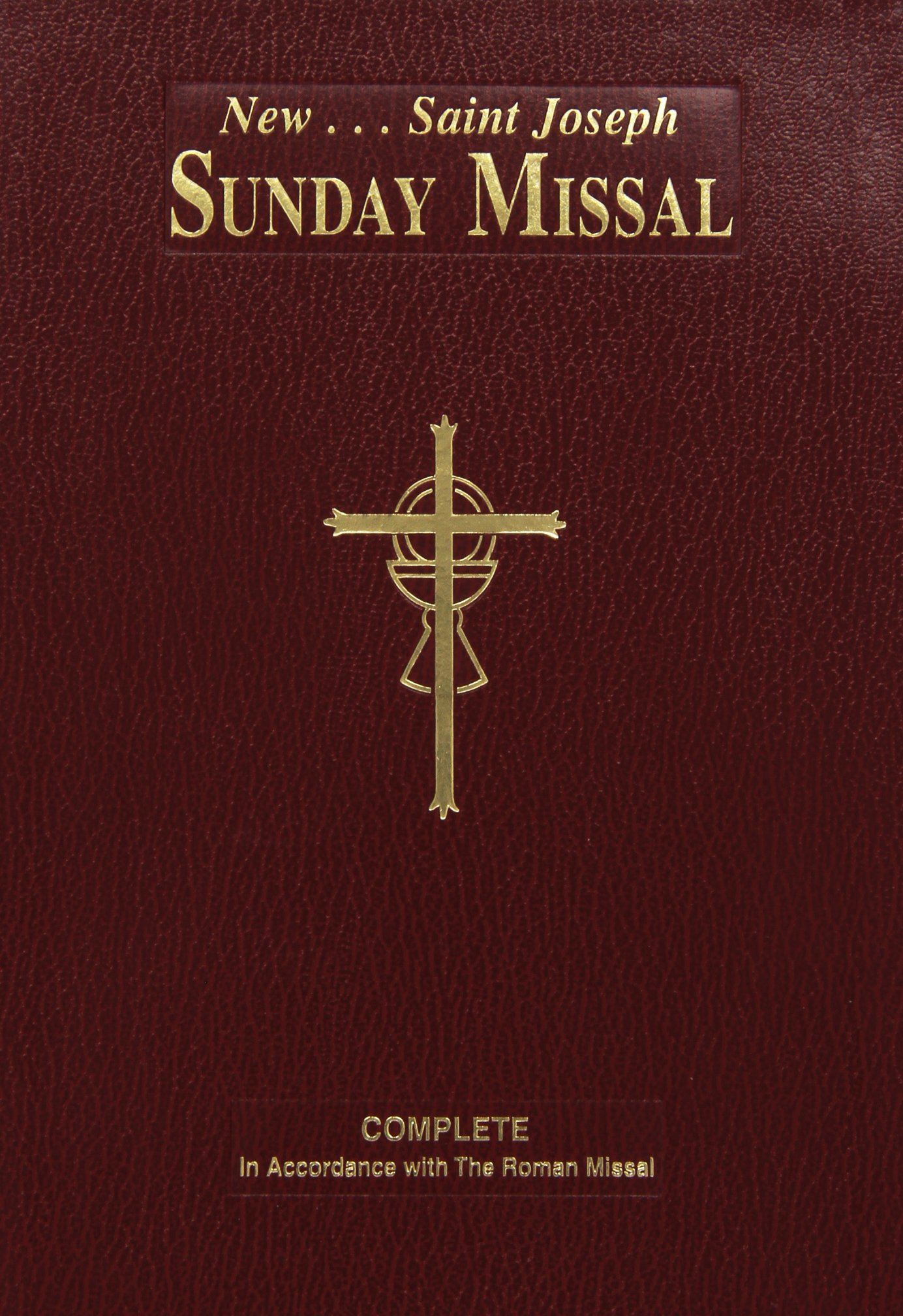 New Saint Joseph Sunday Missal: Catholic Book Publishing Co: 9780899428222:  Amazon.com: Books