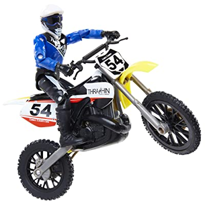 MXS New Spring 2020 Motocross Sound FX Bike & Rider Series 11-Lance Coury by Jakks Pacific Action-Figure-Playsets: Toys & Games