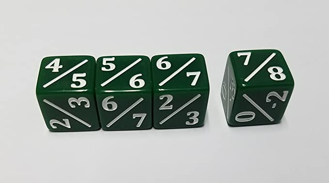4x Wall of Roots Dice for Magic The Gathering CCG Die MTG Dice Counters