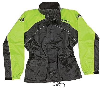 Joe Rocket RS-2 Mens Motorcycle Rain Suit Black, Large