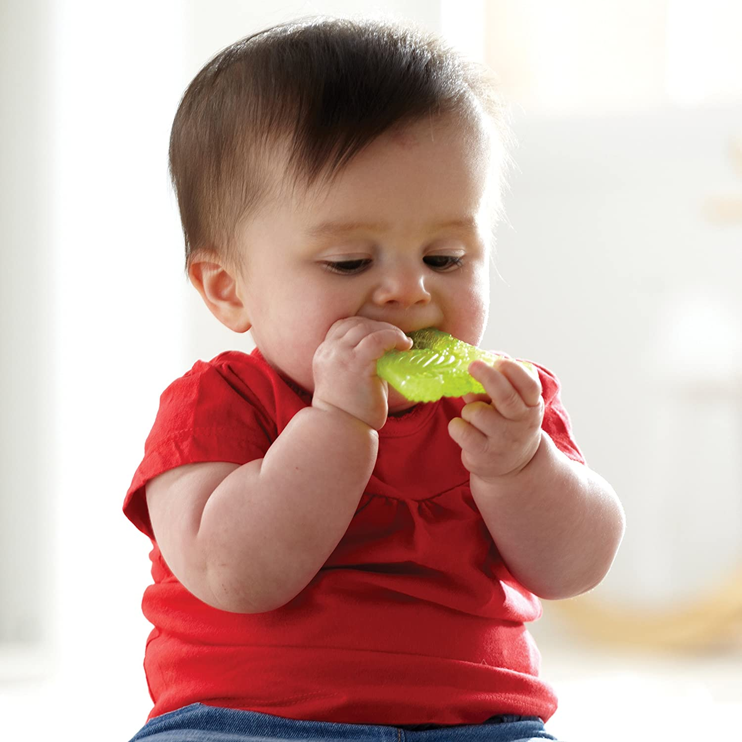 Colors and Design May Vary Munchkin Fun Ice Chewy Teether