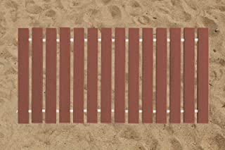 product image for Furniture Barn USA 2 Ft. Wide Roll-up Beach Walkway EverGrain Decking - Redwood - 8 Ft. Length