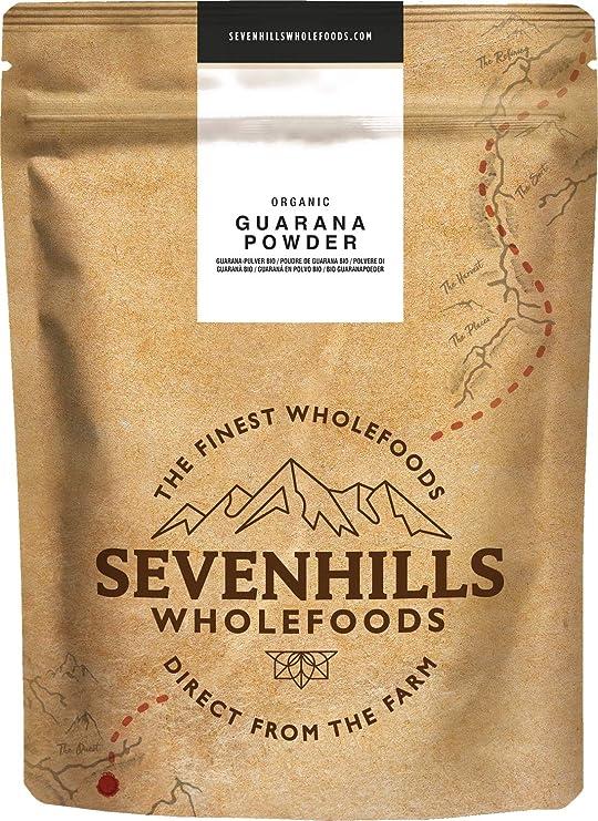 Sevenhills Wholefoods Guaraná En Polvo Orgánico 1kg: Amazon.es: Salud y cuidado personal