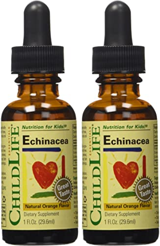 Child Life Echinacea, Glass Bottle, 1-Ounce Pack of 2