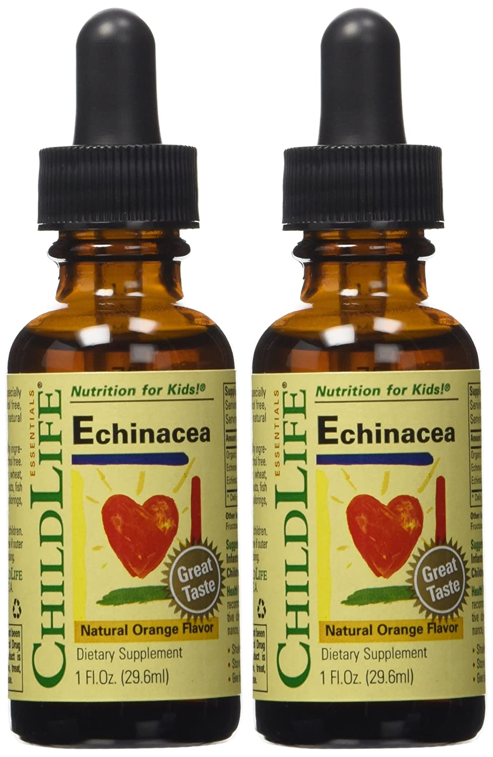 Child Life Echinacea, Glass Bottle, 1-Ounce (Pack of 2)