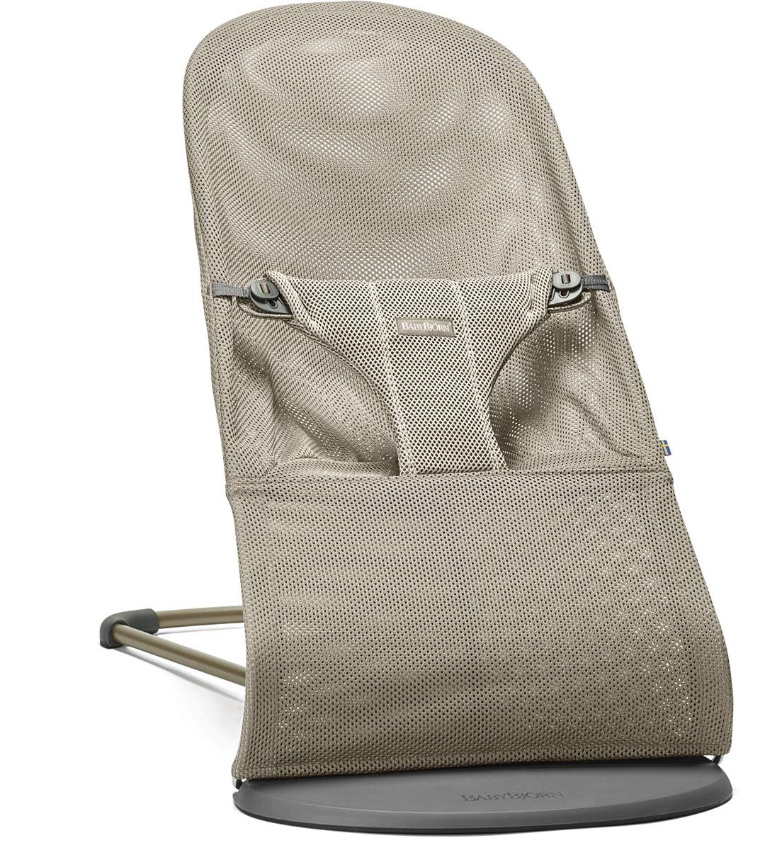 BABYBJORN Bouncer Bliss, Mesh, Greige, One Size BABYBJÖRN 006002US