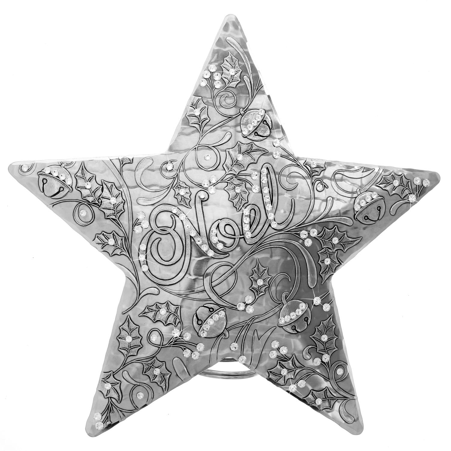 Wendell August Noel Centennial Star Tree Topper with Swarovski Crystals
