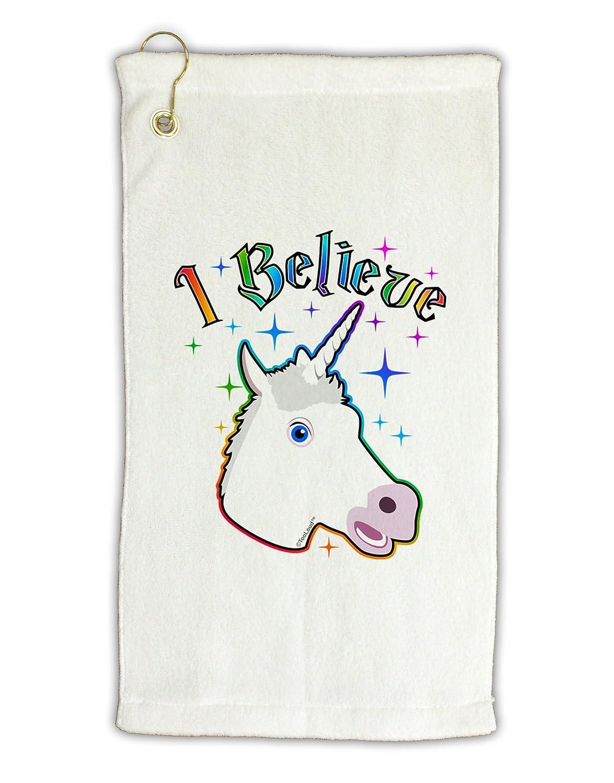 TooLoud I Believe In Unicorns Micro Terry Grometゴルフタオル11