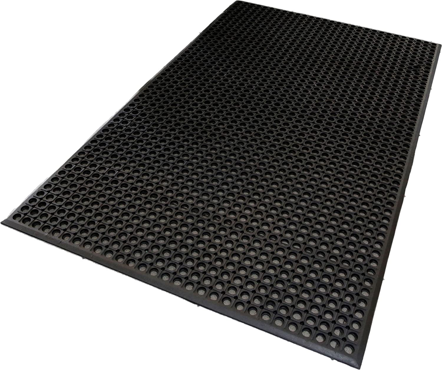 Mats Inc. Professional Series Kitchen Mat, 3' x 5', Black 3' x 5' CSECO35BK