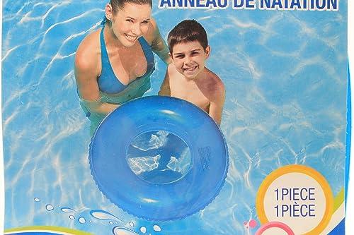 Blue Splash N Swim 20 Inch 51 Centimeter Inflatable Float Splash Ring