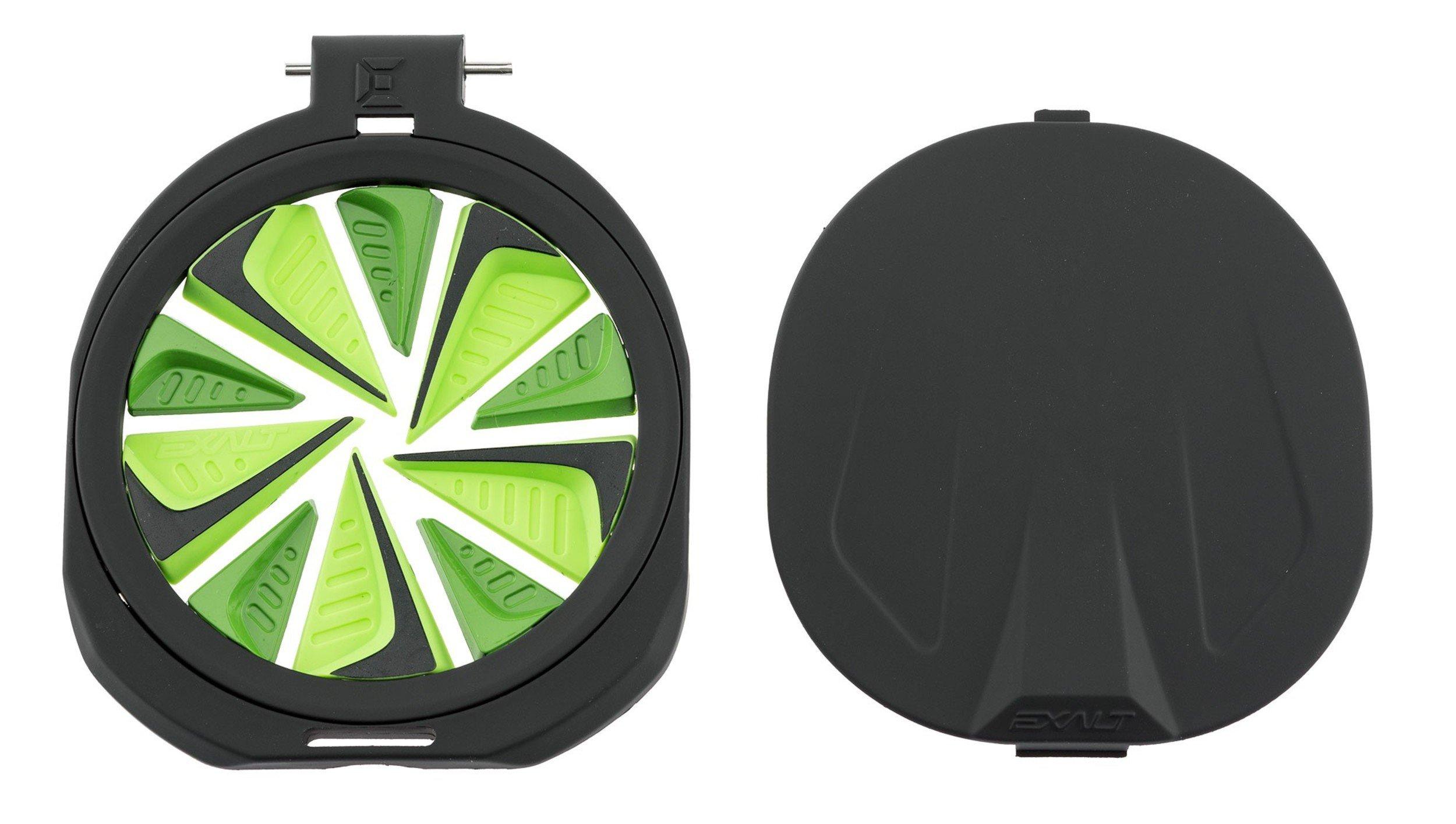Exalt Paintball Spire FastFeed Loader FeedGate - Lime Green by Exalt