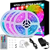 65.6FT/20M LED Strip Lights, Wrrlight RGB LED Light Strip 600 LEDs 5050 SMD Color Changing LED Strip Lights Flexible…