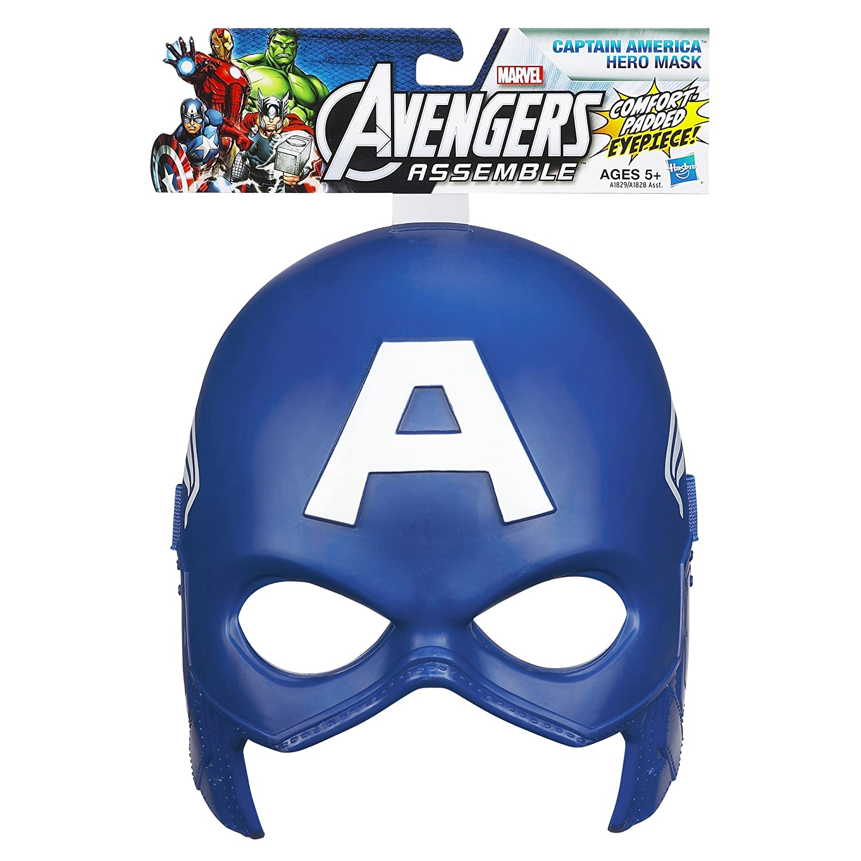 Amazoncom Marvel Avengers Assemble Captain America Hero Mask