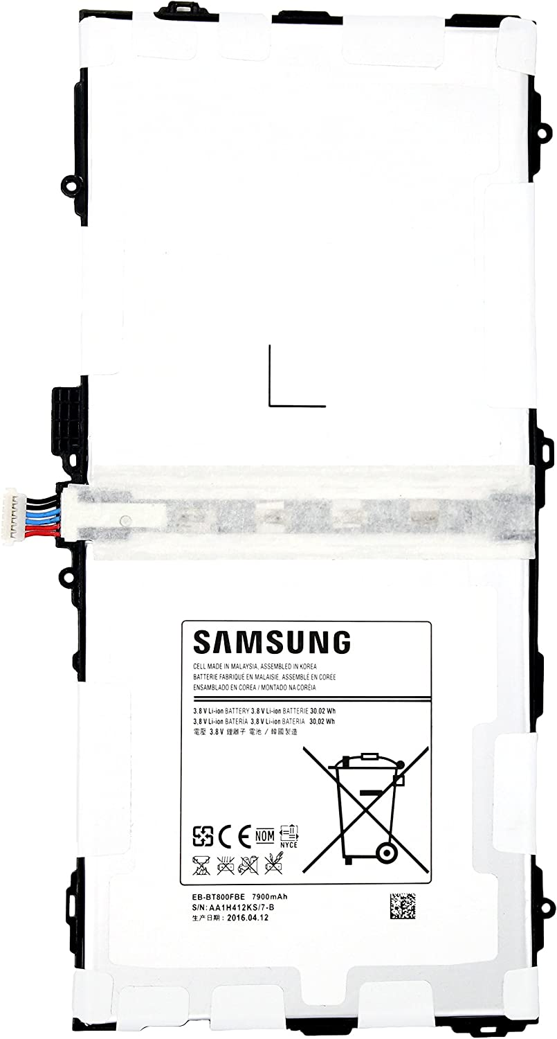 NEW Samsung EB-BT800FBE EB-BT800FBK Battery 7900mAh for Samsung Galaxy Tablet Tab S 10.5 SM-T800 T801 T805 T807 UK VERSION - in Non-retail Package USA Seller