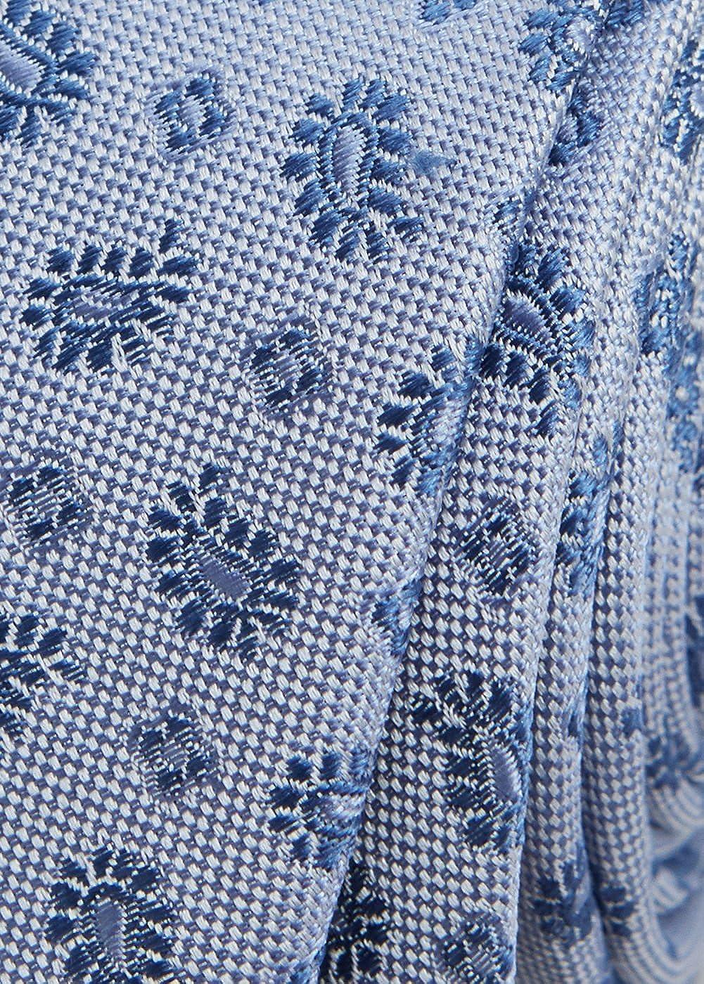 MANGO MAN - Corbata - para hombre azul celeste Talla única: Amazon ...