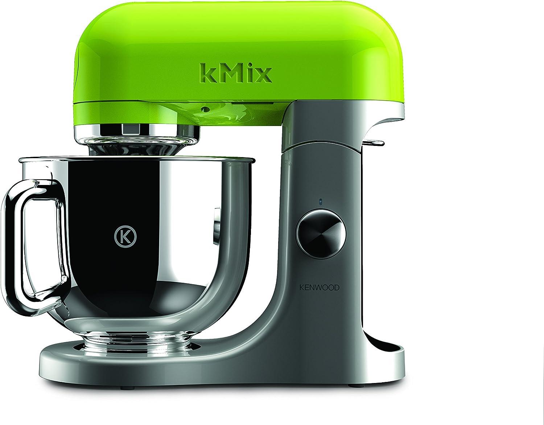 Kenwood kMix KMX95 - Robot de cocina, 500 W, capacidad de 5 l, 6 velocidades, 3 herramientas, plateado y verde: Amazon.es: Hogar