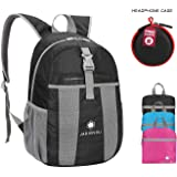 b889f055be5 JADINVALI Travel Backpack Daypack Hiking Backpack Lightweight Packable  Foldable Collapsible Backpack Camping Outdoor Travel Cycling School