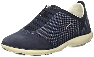 Damen D Nebula C Sneaker, Blau (Navy), 40 EU Geox