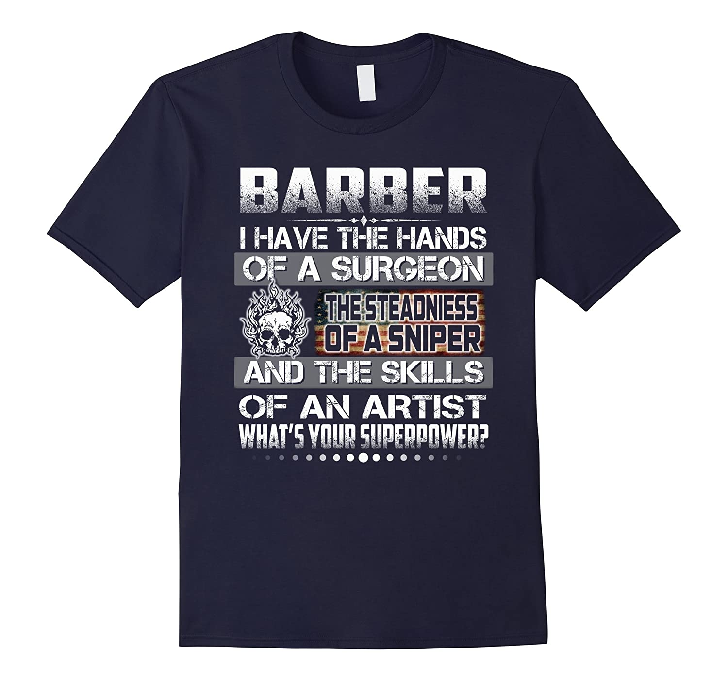 BARBER i have the hands of a surgeon skills of an artist-TJ