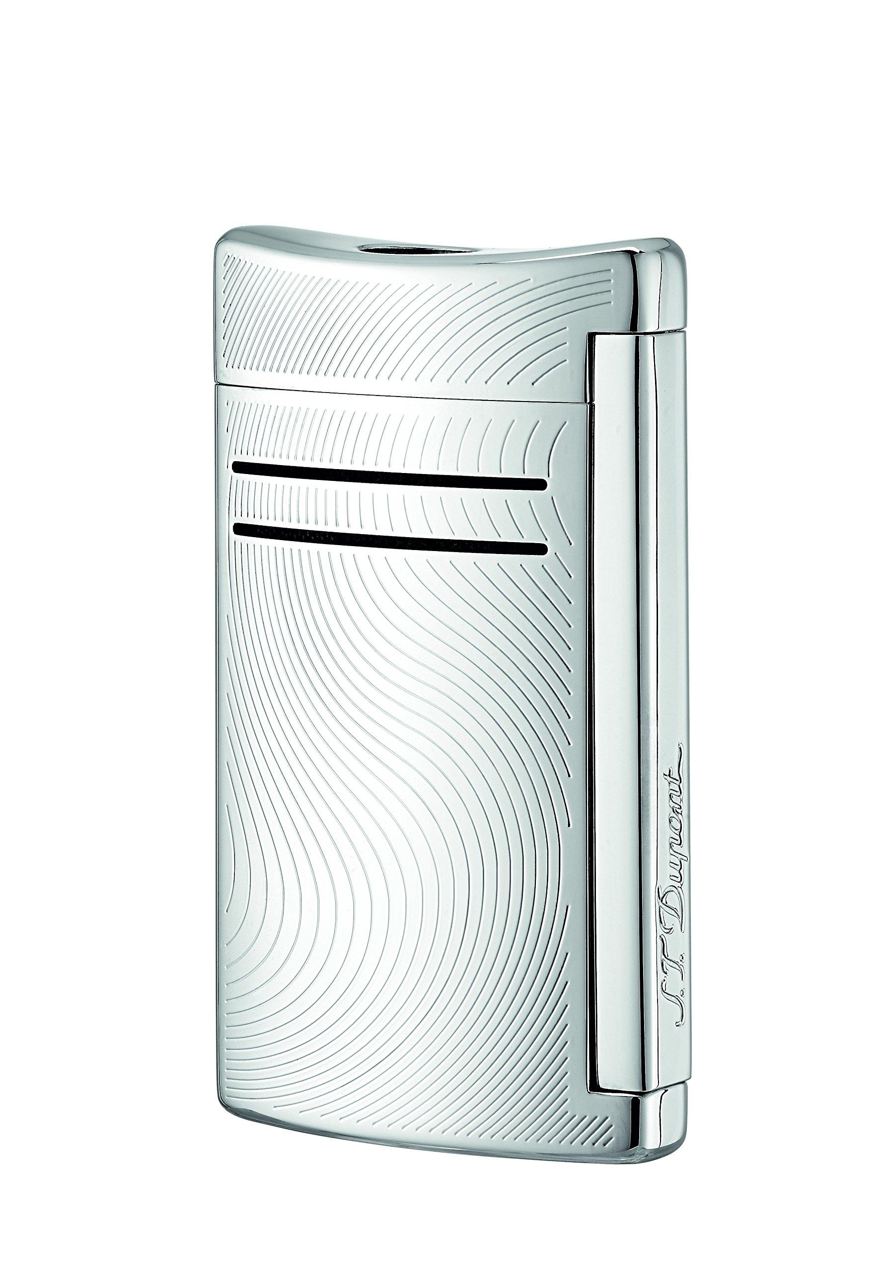 S.T. Dupont Maxijet Chrome Waves Cigar Jet Lighter / 020163N by S.T. Dupont (Image #1)