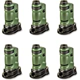 Carson MicroBrite 20x-40x LED Lighted Pocket Microscope for Learning, Education and Exploring - Set of 6 (MM-24MU)