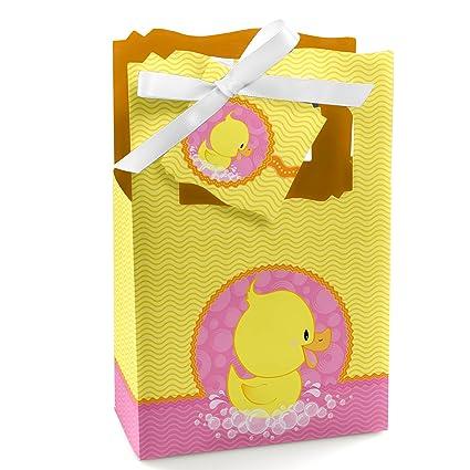 Amazon.com: Rosa Pato Ducky – Chica Bebé Ducha o fiesta de ...