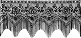 product image for Heritage Lace Gothic Black Lace Halloween Gala 4 Way, Mantle Scarf, Lampshade Topper, Window