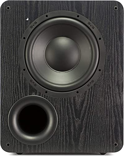 SVS PB-1000 Subwoofer Black Ash 10-inch Driver, 300-Watts RMS, Ported Cabinet