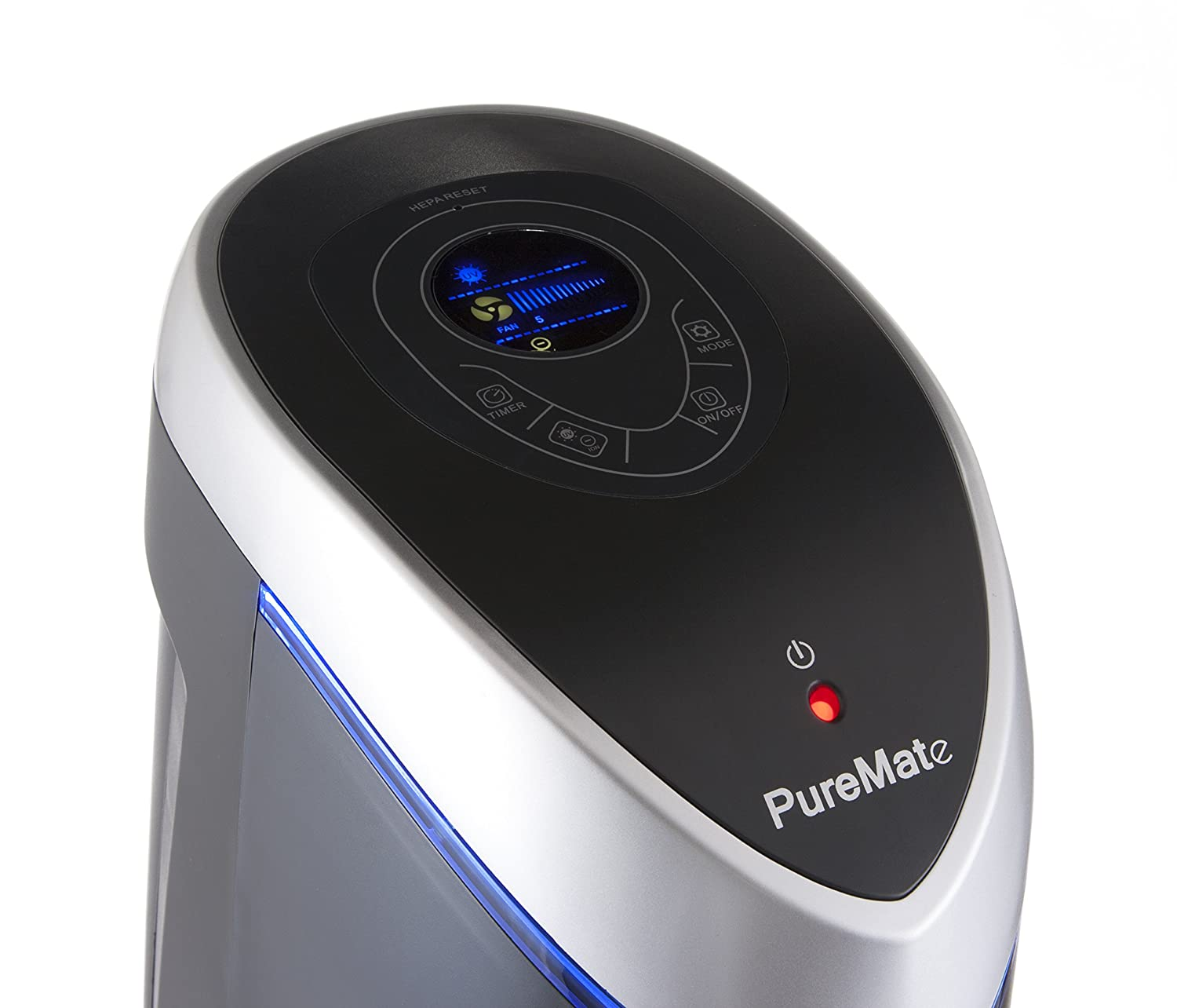 PureMate Multiple Technologies True HEPA Air Purifier and Ioniser with UV-C and Odor Reduction PM510