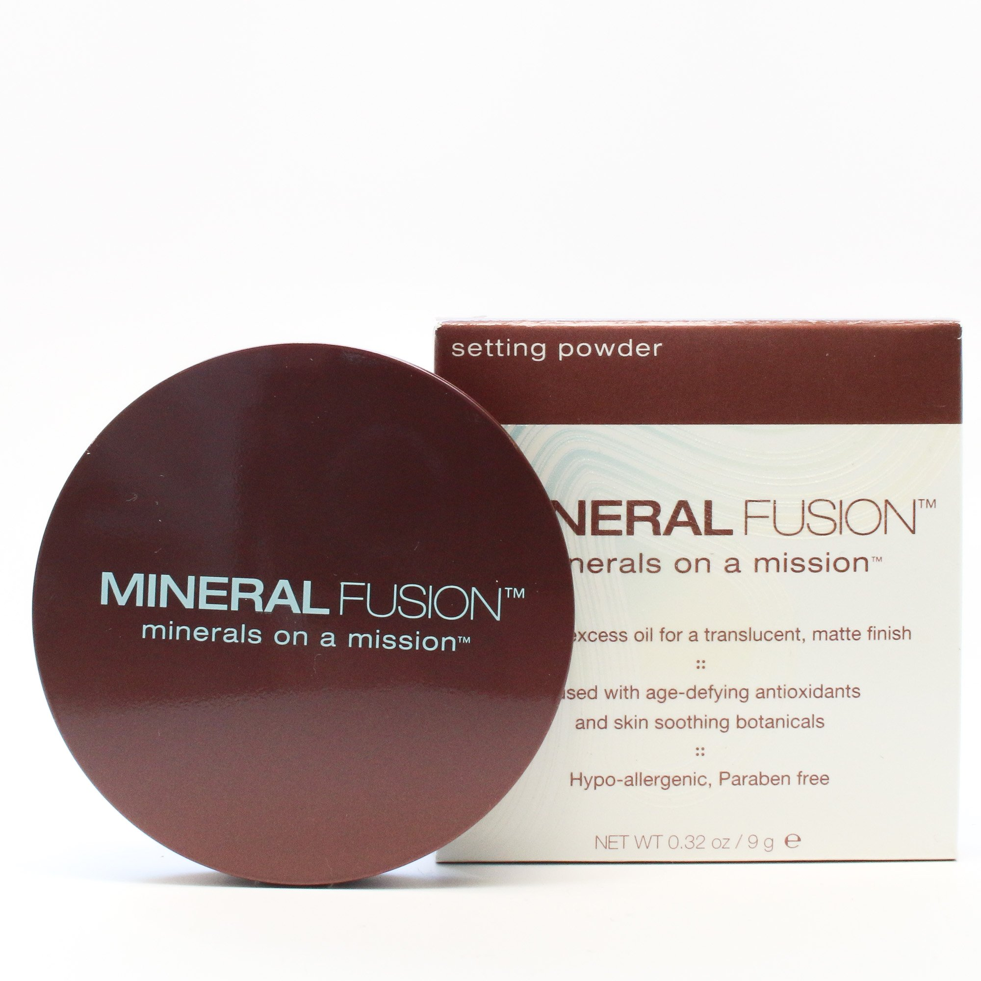Mineral Fusion Setting Powder — Hypoallergenic, Paraben Free — 0.32 Ounces  (9 Grams) by Mineral Fusion (Image #3)