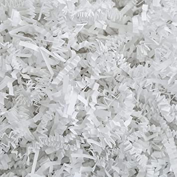 Crinkle Paper Shred 1 POUND Bag for Packaging Gift Box  Basket Filler BULK BUY !!!