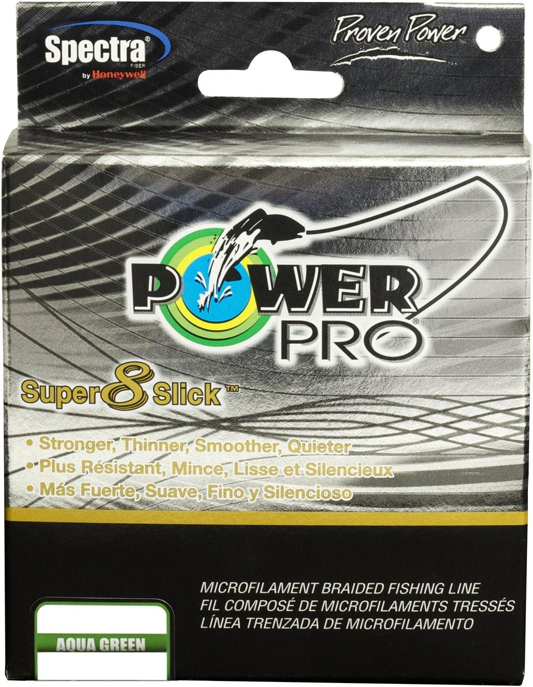 Power Pro Super Slick 300Yd Aqua Green