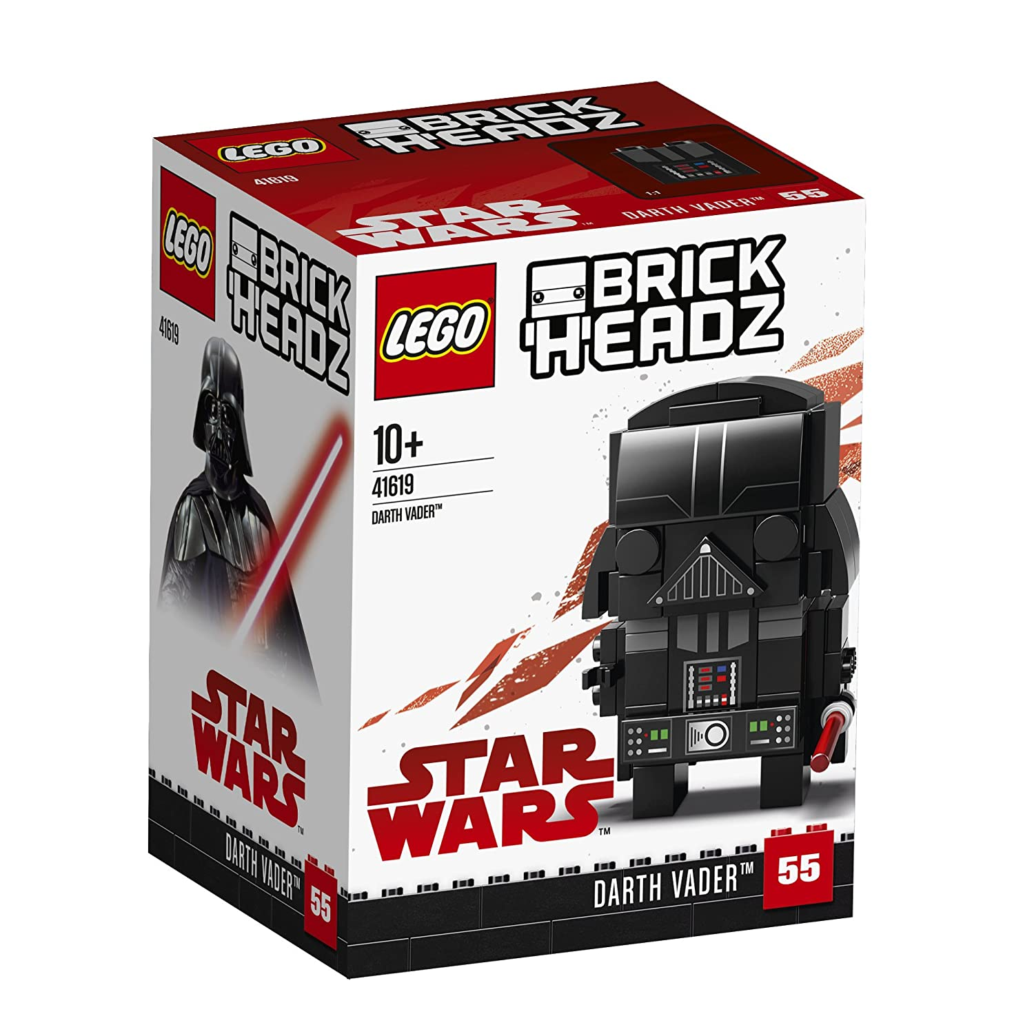 LEGO 41619 Brickheadz Darth Vader Star Wars