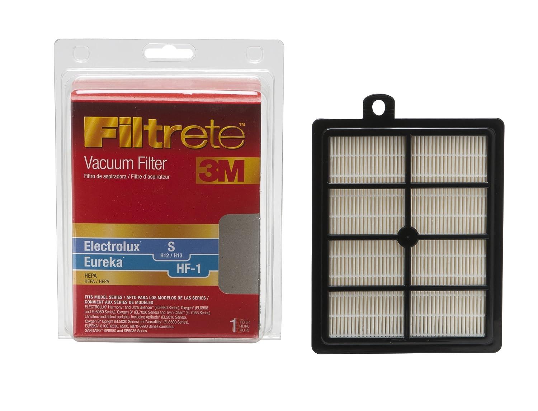 3M Filtrete Electrolux/Sanitaire/Eureka S/S/HF-1 HEPA Vacuum Filter Red