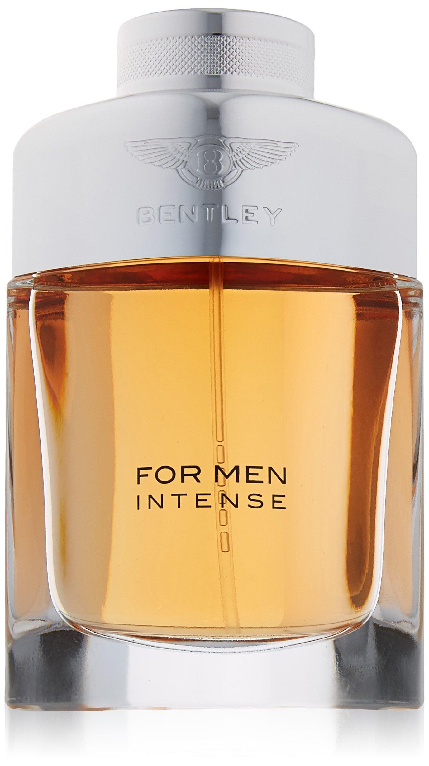 Bentley INTENSE Eau De Parfum Natural Spray 3.4oz / 100ml For Men by Bentley Fragrances [Beauty] by Bentley