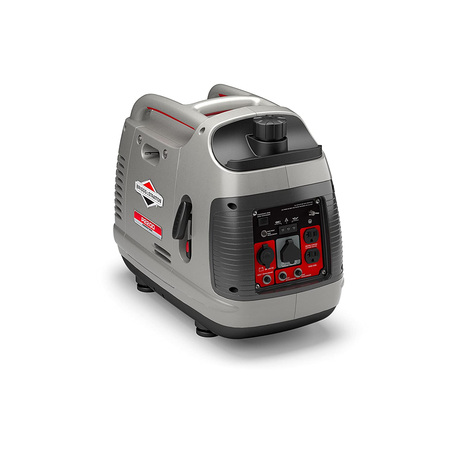 Inverter Generator - Briggs & Stratton Gray
