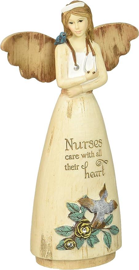 Pavilion Gift Company 02978 Nurse Angel Figurine 6 Inch Home Kitchen