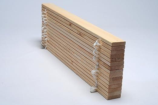 Inlander Somier enrollable - 120x200 cm (con 15 trabas ...
