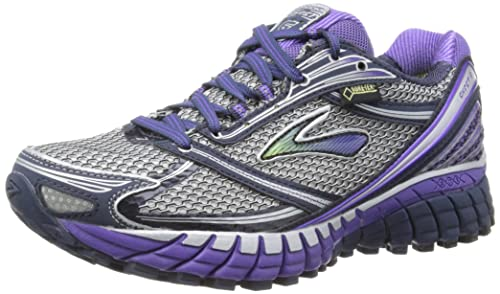 4cec0d65aee Brooks Womens Ghost 6 Gore Tex W Running Shoes 1201431B716 Minight Ultra  Violet Passat