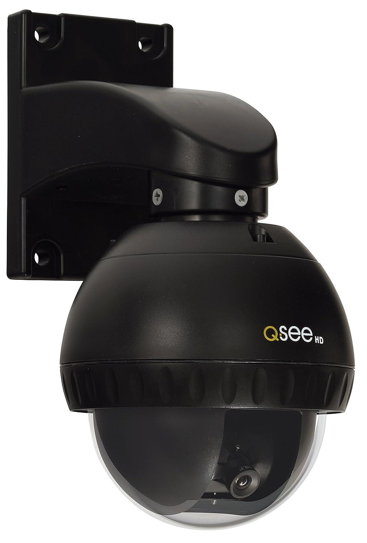 Q-See QTH7211B-4 720-Pixel BNC HD Bullet Camera 4-Pack with 100-Feet Night Vision, Grey