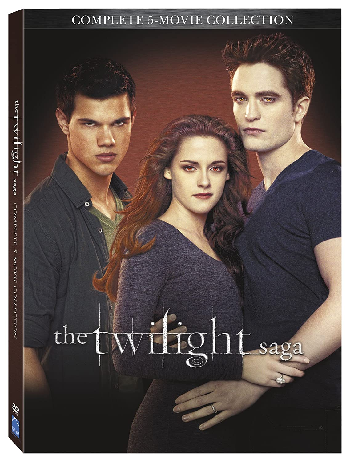 the twilight saga complete movies series 1 2 3 4 5 collection boxed dvd set new ebay. Black Bedroom Furniture Sets. Home Design Ideas