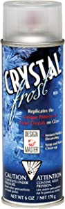Design Master Crystal Frost Aerosol Spray, 6-Ounce, Clear