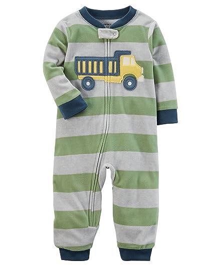 16d32b07684d Amazon.com  Carter s Baby Boys  12M-24M One Piece Rocket Fleece ...