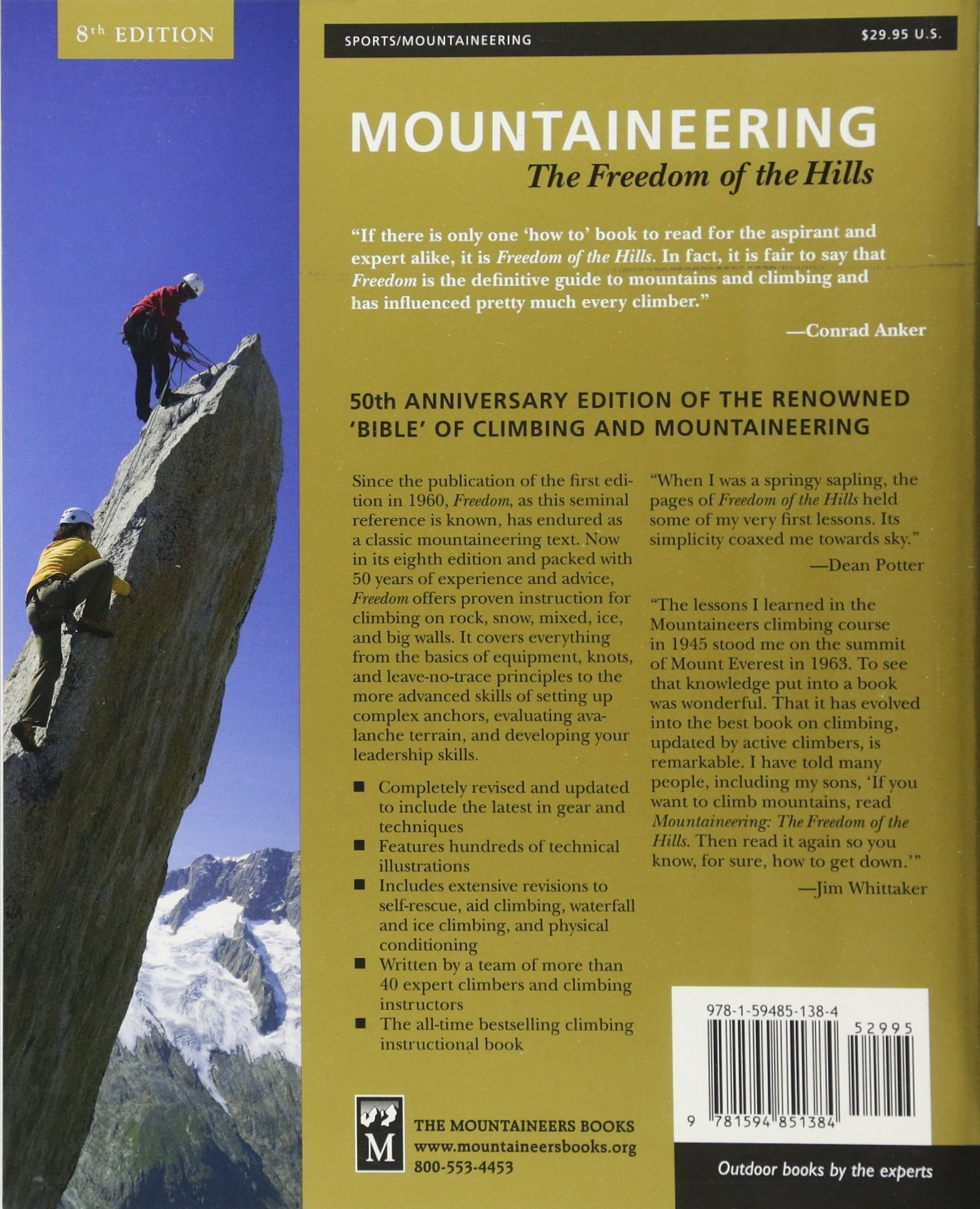 Freedom of the Hills Mountaineering